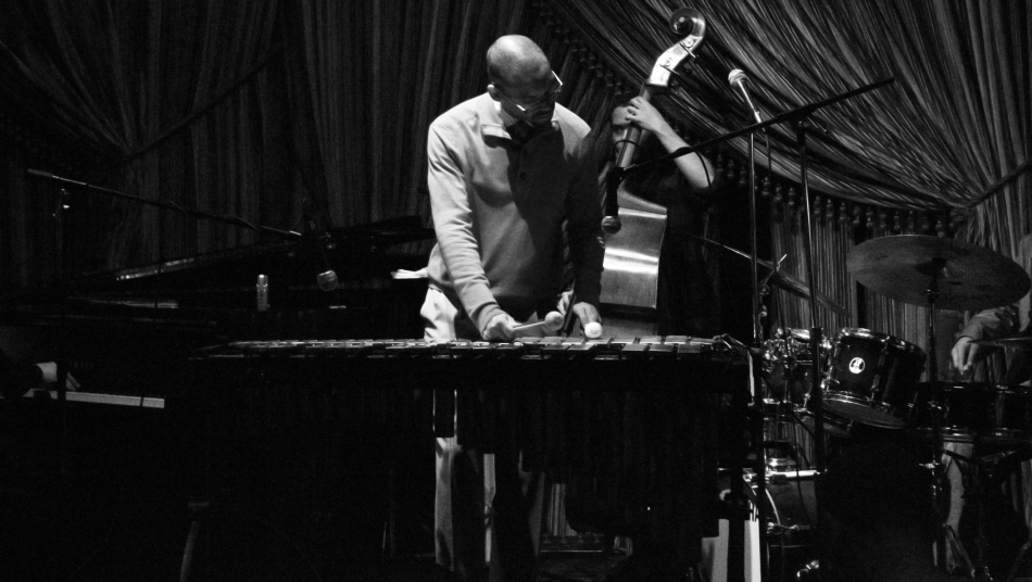 Jazz Vibraphonist Jason Marsalis plays at Irvin mayfield's Jazz Playhouse on March 9, 2013 for the release of his new album In A World of Mallets