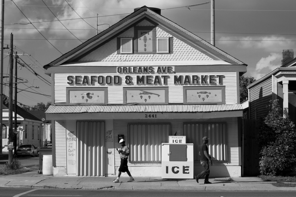 The Orleans Avenue Seafood & Meat Market in New Orleans, LA.