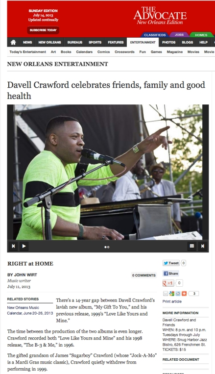 2013_07_11 Davell Crawford - The Advocate