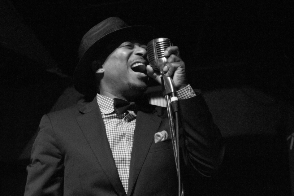 Jazz Trumpeter and Vocalist Kermit Ruffins performs at Tipitina's Uptown in New Orleans, LA on June 8, 2013.